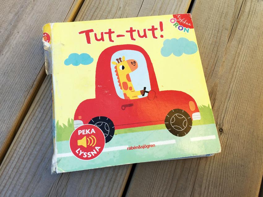 Älskat exemplar av Tut-tut som ofta var med under måltiderna när Lillebror var liten.